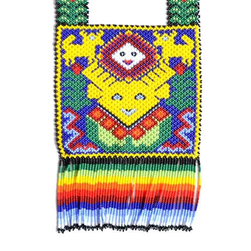 884d0d876125 Pectorales de chaquira (beads) - Arte Huichol de México